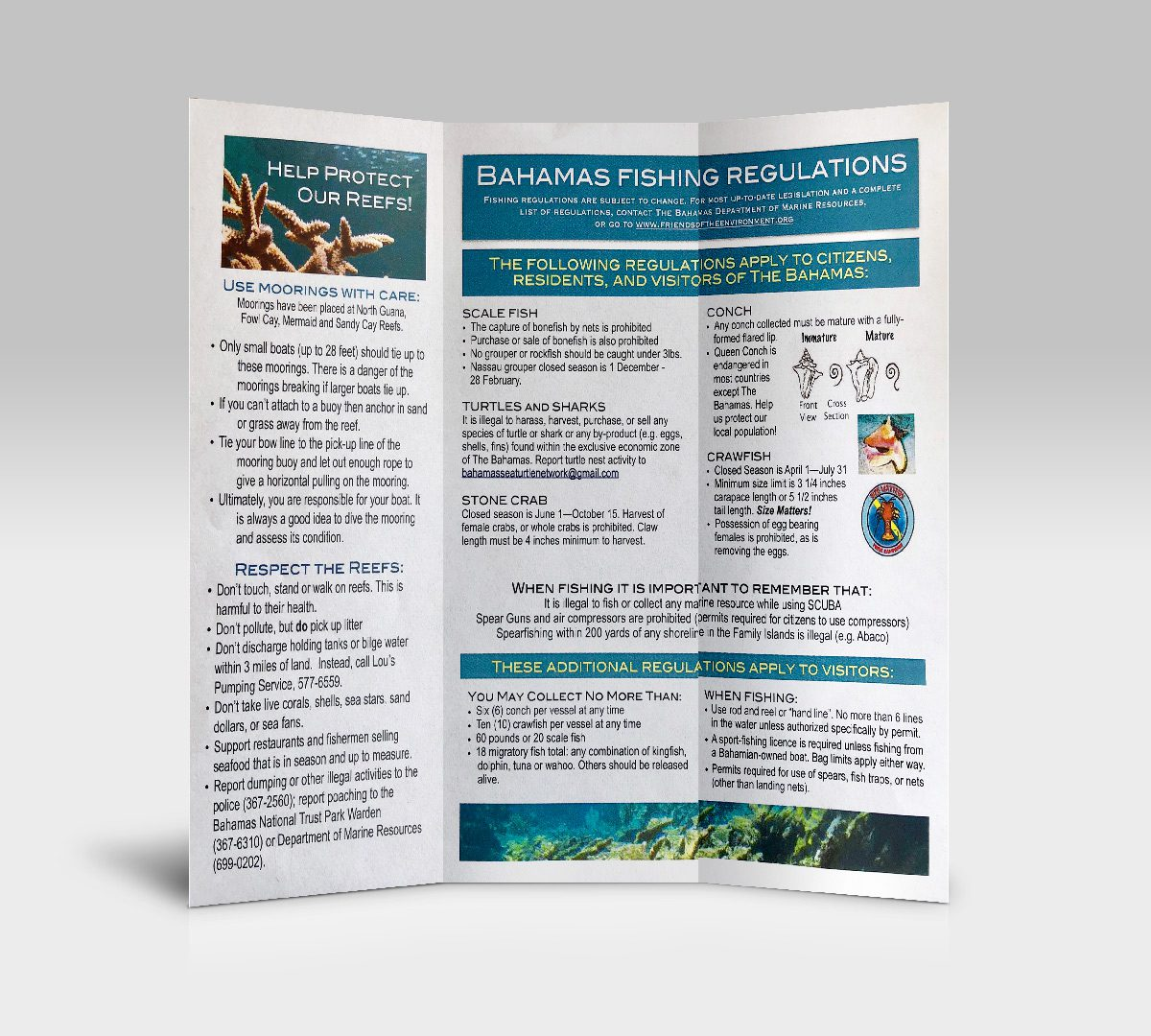 bep foundation marine brochure